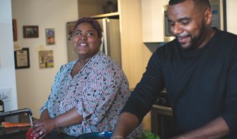 two family members who benefit from virtual relationship coaching