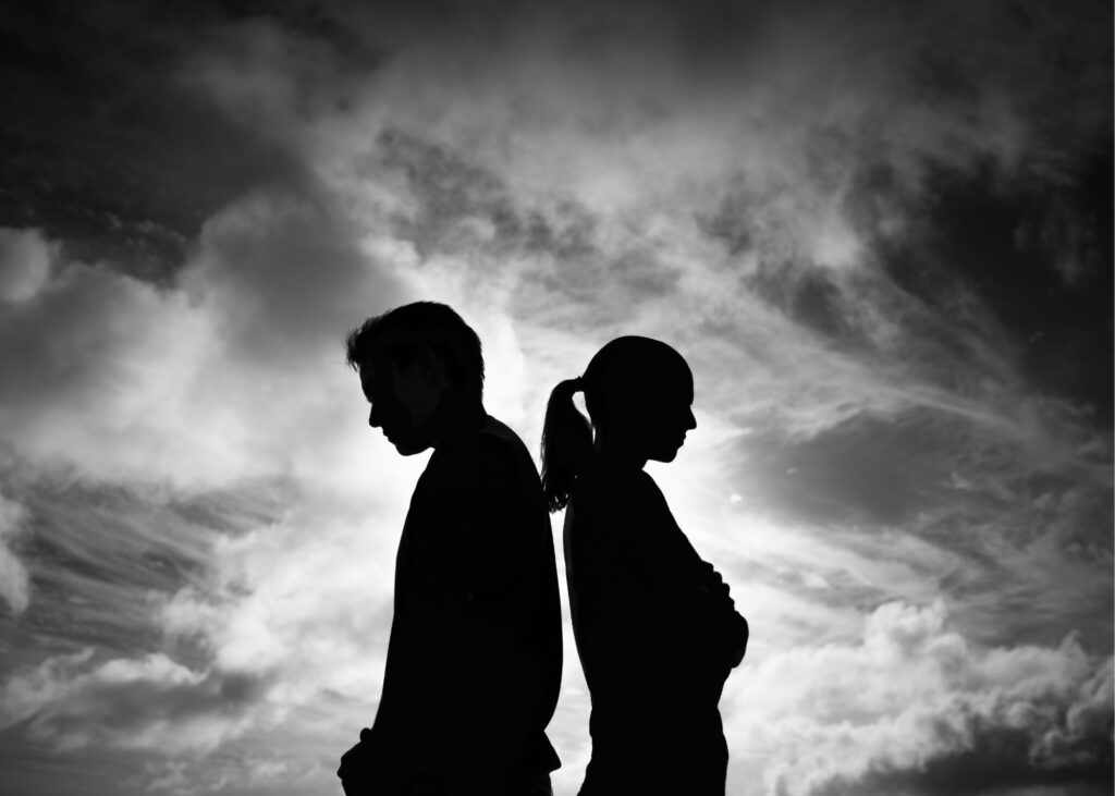 married couple who need an online relationship coach