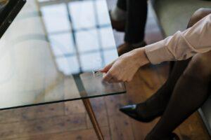 Woman Taking Off Wedding Ring | Lisa Panos Power Hour Relationship Coaching
